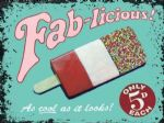 Fab-licious Metal Plaque Seaside Sign Wall Picture